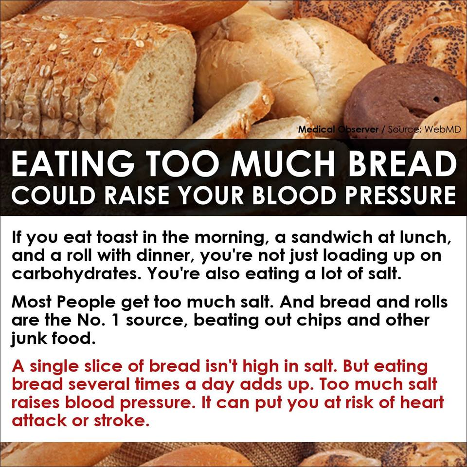 Are we eating too much bread?